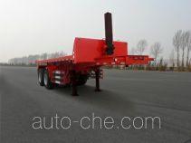 Huanghai DD9350ZZXP flatbed dump trailer