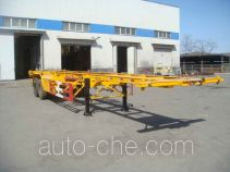Huanghai DD9351TJZ container transport trailer