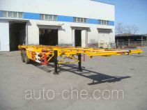 Huanghai DD9352TJZ container transport trailer