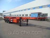 Huanghai DD9370TJZG container transport trailer