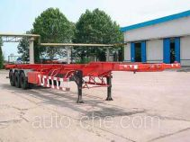Huanghai DD9380TJZG container transport trailer
