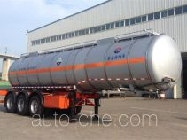 Huanghai DD9400GFW corrosive materials transport tank trailer