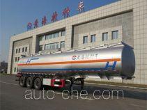 黄海牌DD9400GRH型润滑油罐式运输半挂车