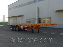 Huanghai DD9400TJZA container transport trailer