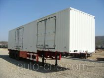 Huanghai DD9400XXY box body van trailer