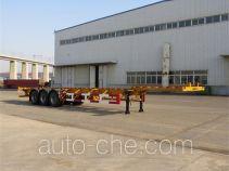黄海牌DD9401TJZA型集装箱运输半挂车