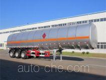 黄海牌DD9405GRYA型易燃液体罐式运输半挂车
