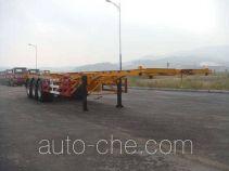 黄海牌DD9405TJZ型集装箱运输半挂车