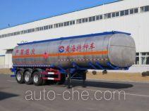 黄海牌DD9406GRY型易燃液体罐式运输半挂车