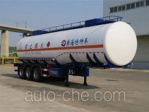 Huanghai DD9409GRY flammable liquid tank trailer