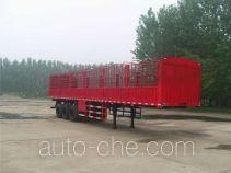 齐鲁中亚牌DEZ9400CLX型仓栅运输半挂车