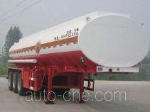 Qilu Zhongya DEZ9400GFW corrosive materials transport tank trailer