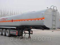 齐鲁中亚牌DEZ9400GYY型运油半挂车