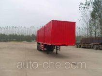 Qilu Zhongya DEZ9400XXY box body van trailer