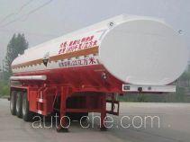 Qilu Zhongya DEZ9402GFW corrosive materials transport tank trailer