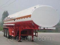齐鲁中亚牌DEZ9402GFW型腐蚀性物品罐式运输半挂车