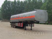 齐鲁中亚牌DEZ9401GRYB型易燃液体罐式运输半挂车