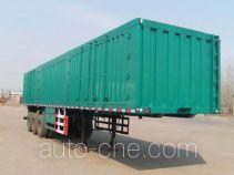 齐鲁中亚牌DEZ9402XXY型厢式运输半挂车