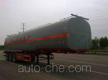 齐鲁中亚牌DEZ9403GRY型易燃液体罐式运输半挂车