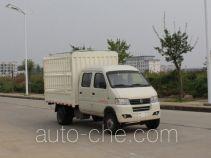 俊风牌DFA5030CCYD50Q6AC型仓栅式运输车