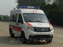 东风牌DFA5031XJH4A1M型救护车