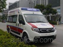 东风牌DFA5040XJH4A1H型救护车