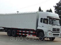 东风牌DFC5160XXBAX型蓬式运输车