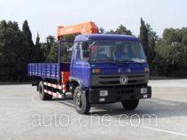 华神牌DFD5160JSQ1型随车起重运输车