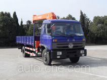 华神牌DFD5160JSQ型随车起重运输车