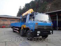 华神牌DFD5251JSQ型随车起重运输车