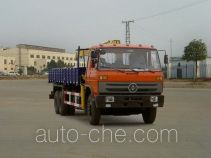 华神牌DFD5252JSQ型随车起重运输车