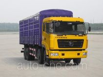 特商牌DFE5311CCQF型仓栅式运输车