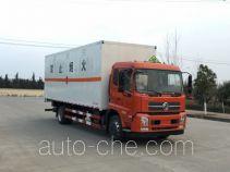 东风牌DFH5160XRYBX2DV型易燃液体厢式运输车