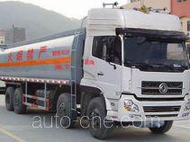 Dongfeng DFL5311GHYAX8A chemical liquid tank truck