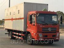 东风牌DFZ5160XRQBX1V型易燃气体厢式运输车