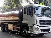 Dongfeng DFZ5250GYYALS aluminium oil tank truck