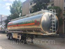 Dongfeng DFZ9351GYY aluminium oil tank trailer