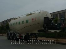 Dongfeng DFZ9402GFL medium density bulk powder transport trailer