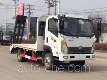 大力牌DLQ5040TPBW5型平板运输车