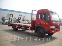 大力牌DLQ5140TPBC型平板运输车