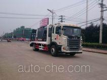 大力牌DLQ5161TPBM4型平板运输车