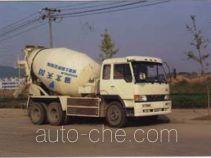 大力牌DLQ5221GJB型混泥土搅拌运输车