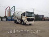 大力牌DLQ5250GJBL4型混凝土搅拌运输车