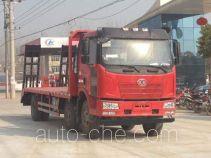 大力牌DLQ5251TPBC4型平板运输车