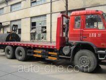 大力牌DLQ5251TPBD型平板运输车