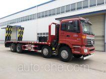大力牌DLQ5310TPBH型平板运输车