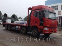 大力牌DLQ5310TPBM4型平板运输车