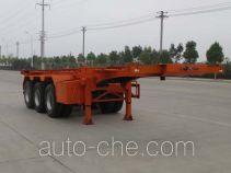 Dali DLQ9400TWY dangerous goods tank container skeletal trailer