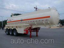 大力牌DLQ9401GFW型腐蚀性物品罐式运输半挂车