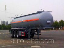 大力牌DLQ9404GFW型腐蚀性物品罐式运输半挂车